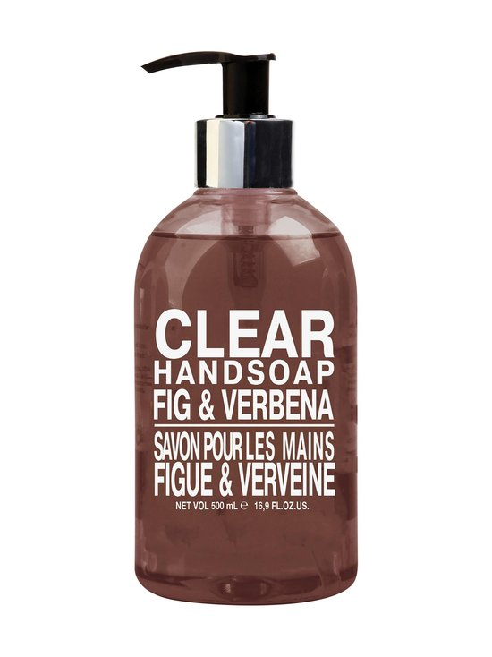 Elle Basic - Clear Hand Wash Fig & Verbena -nestesaippua 500 ml - null | Stockmann - photo 1