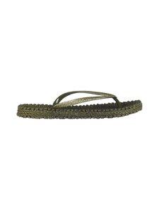 ILSE JACOBSEN - Flip-Flops With Glitter -sandaalit - 410 ARMY | Stockmann