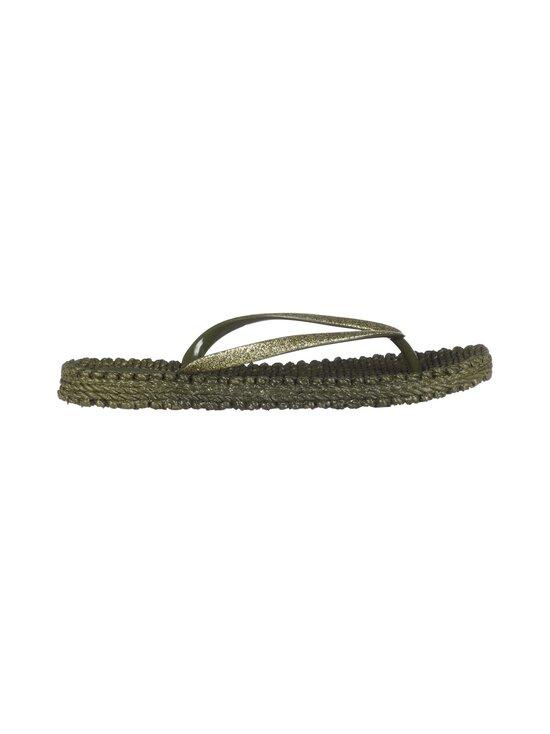 ILSE JACOBSEN - Flip-Flops With Glitter -sandaalit - 410 ARMY | Stockmann - photo 1