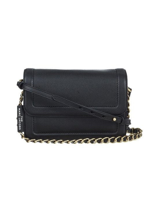 Marc Jacobs - The Cushion Bag -nahkalaukku - 001 BLACK | Stockmann - photo 1