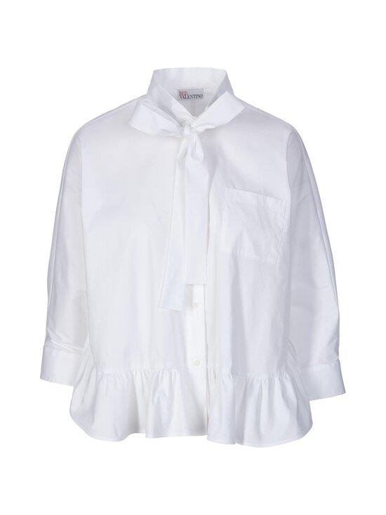 RED Valentino - Shirt W Frill -pusero - 001 WHITE | Stockmann - photo 1