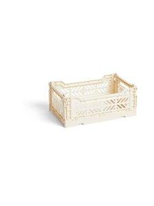 HAY - Colour Crate S -laatikko 26,5 x 17 x 10,5 cm - OFF WHITE | Stockmann
