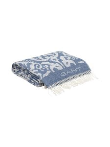 Gant Home - Paix Throw -torkkupeitto - 437 MID BLUE | Stockmann