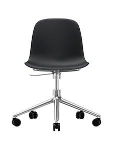 Normann Copenhagen - Form Swivel -tuoli - MUSTA/ALUMIINI | Stockmann