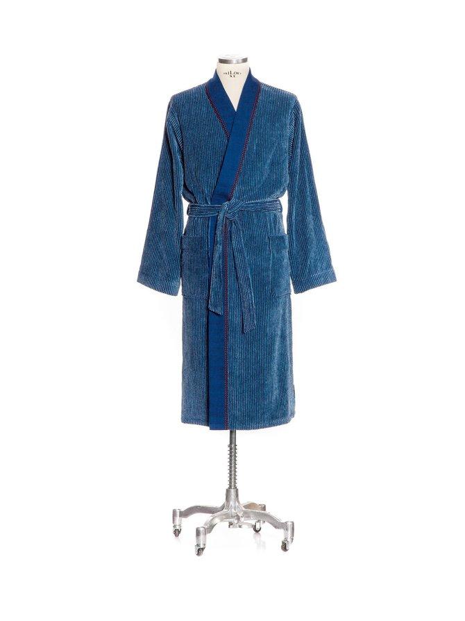 Denim Kimono Rib -kylpytakki
