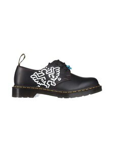 Dr. Martens - 1461 Keith Haring -nahkakengät - BLACK | Stockmann