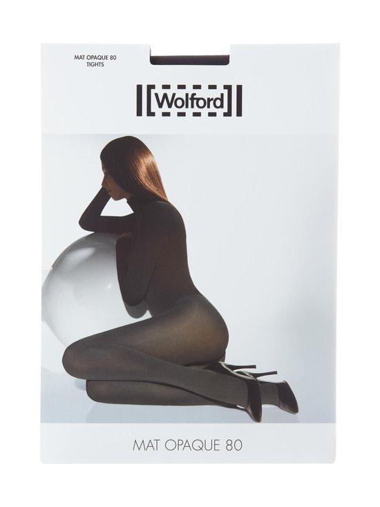 Wolford - Mat Opaque 80 den -sukkahousut - BLACK | Stockmann - photo 1