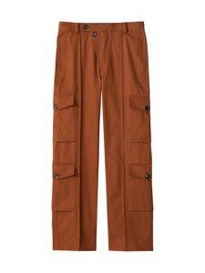 Kenzo - Cargo Pant -housut - 89 - LIGHT GABARDINE DRY COTTON - MOROCCAN BROWN | Stockmann