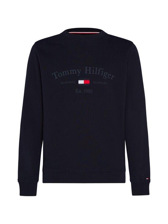 Tommy Hilfiger - Organic Cotton 1985 Logo Sweatshirt -collegepaita - DW5 DESERT SKY | Stockmann - photo 1
