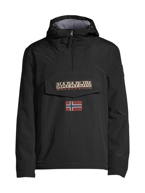 Napapijri - Rainforest Winter 2 Anorak -takki - BLACK | Stockmann - photo 1