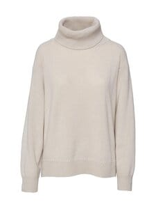 Filippa K - Molly Roll-Neck -villaneule - 8498 IVORY | Stockmann