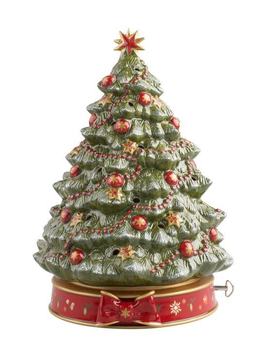 Villeroy & Boch - Toy's Delight -joulukoriste soittorasialla 33 cm - VIHREÄ   Stockmann - photo 1