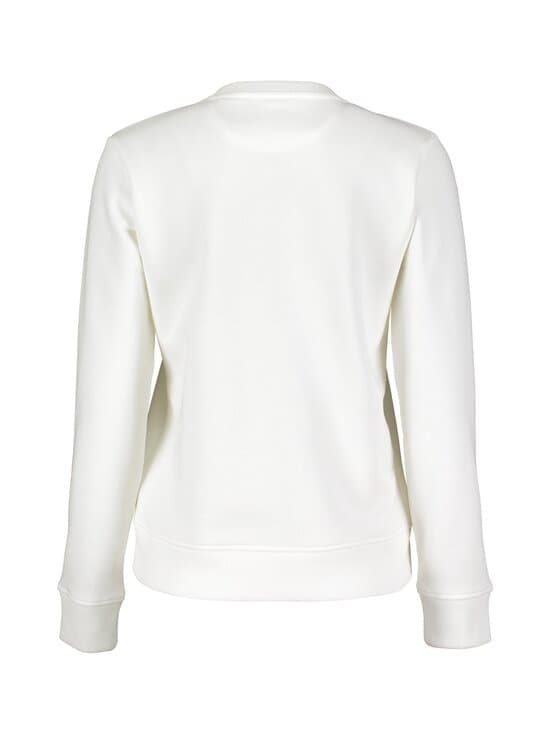 GANT - Archive Shield C-Neck -collegepaita - 113 EGGSHELL | Stockmann - photo 2