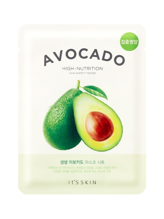 It'S SKIN - The Fresh Avocado Mask Sheet -kasvonaamio 21 g - null | Stockmann - photo 1