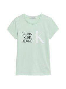 Calvin Klein Kids - HYBRID LOGO SLIM -paita - LZY DEW GREEN | Stockmann
