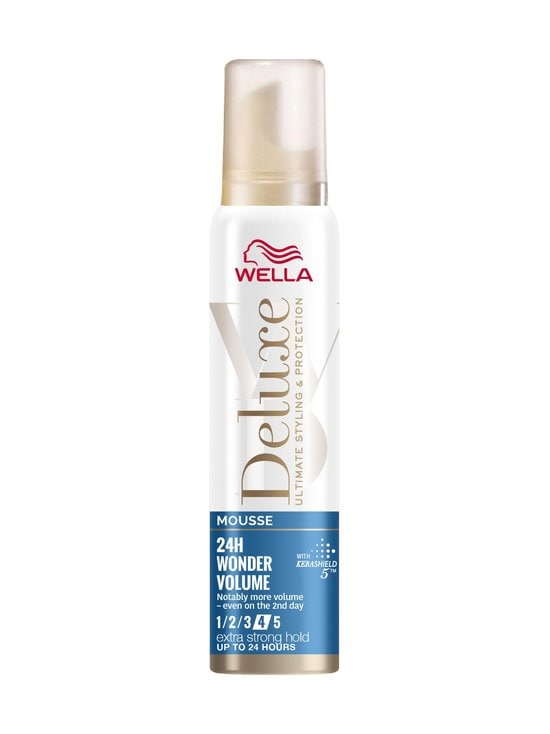 Wella - Deluxe Wonder Volume Extra Strong Mousse -muotovaahto 75 ml - NOCOL | Stockmann - photo 1