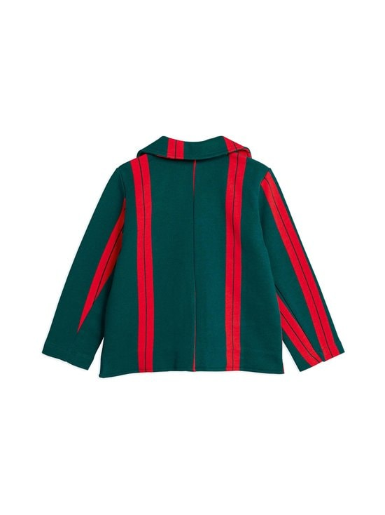 Mini Rodini - Stripe-collegetakki - GREEN | Stockmann - photo 2