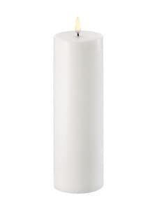 UYUNI - Pillar LED -pöytäkynttilä 7 x 22 cm - NORDIC WHITE | Stockmann