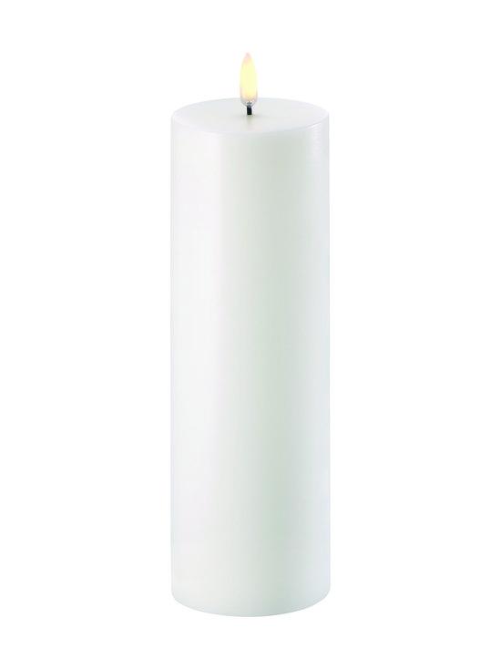 UYUNI - Pillar LED -pöytäkynttilä 7 x 22 cm - NORDIC WHITE | Stockmann - photo 1