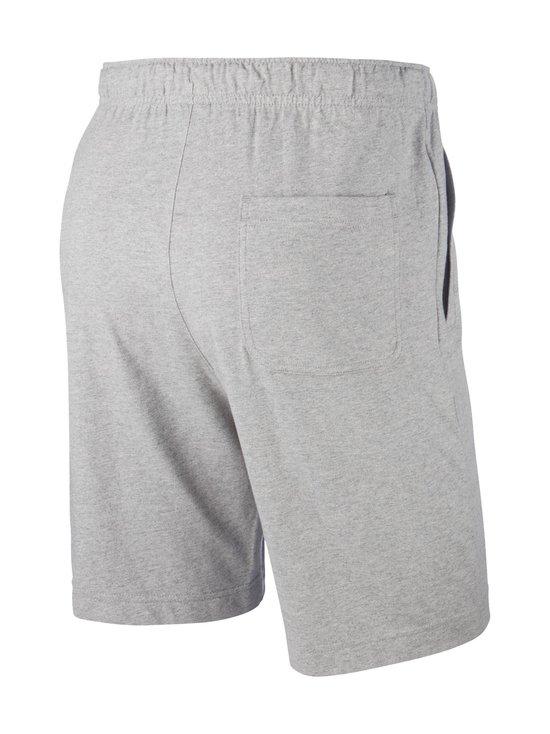 Nike - Sportswear Club Fleece -collegeshortsit - 063 DK GREY HEATHER/WHITE | Stockmann - photo 2