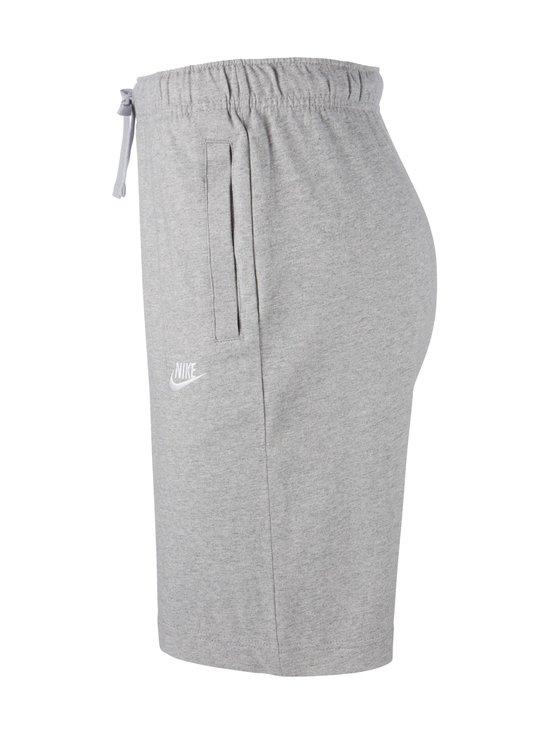Nike - Sportswear Club Fleece -collegeshortsit - 063 DK GREY HEATHER/WHITE | Stockmann - photo 3