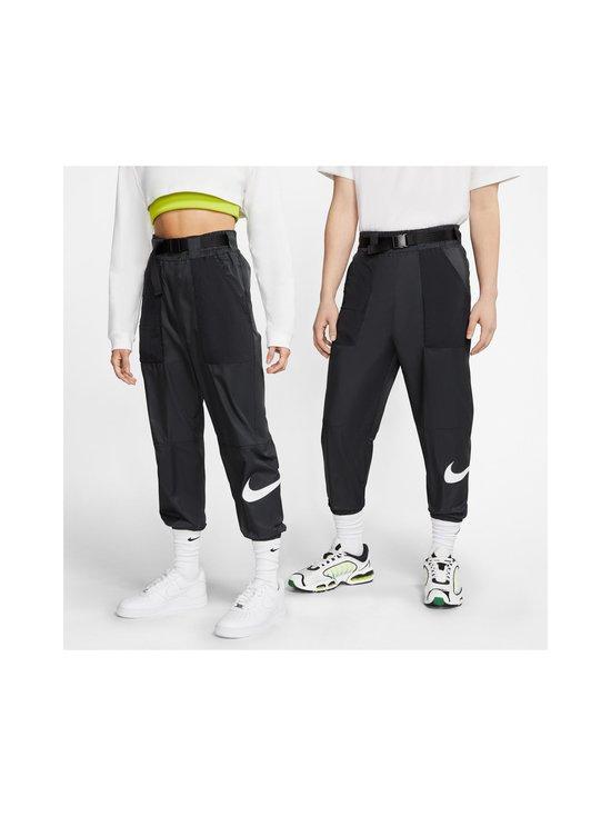 Nike - Sportswear Swoosh -housut - 010 BLACK/WHITE | Stockmann - photo 9