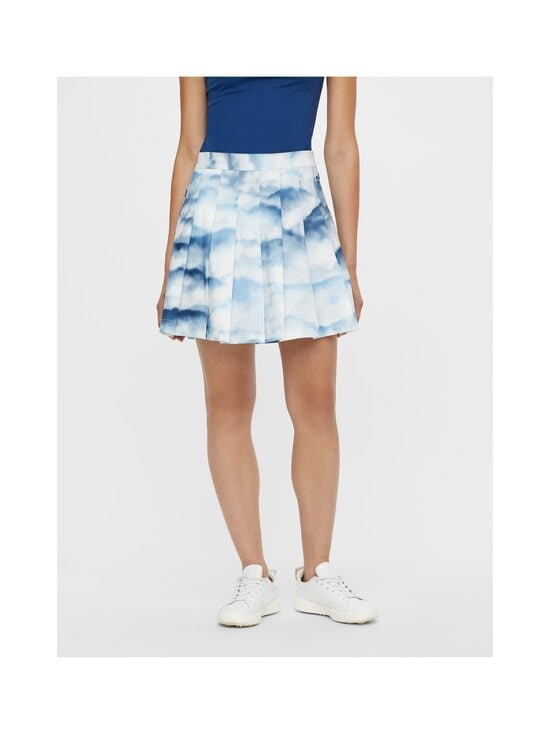 J.Lindeberg - Adina Printed Golf Skirt -hame - O416 CLOUD MIDNIGHT SUMMER BLUE | Stockmann - photo 5