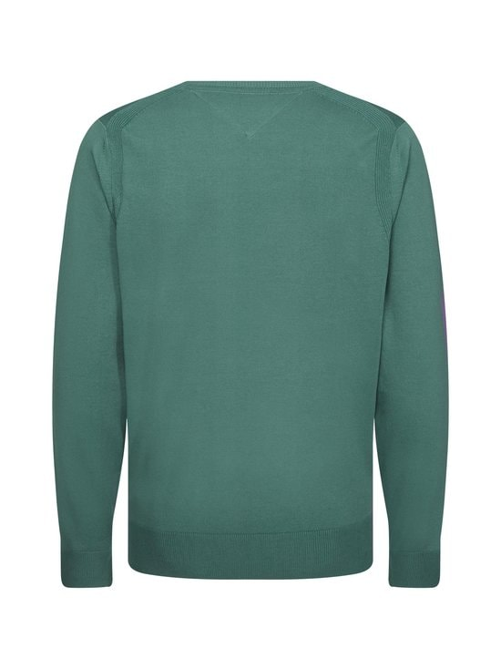 Tommy Hilfiger - TH Flex Crew Neck -neule - MBZ JUNIPER GREEN | Stockmann - photo 2