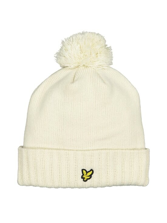 Lyle & Scott - Bobble Beanie -pipo - W120 VANILLA ICE | Stockmann - photo 1