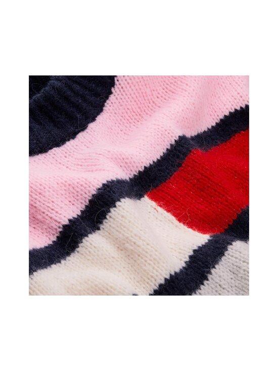 Tommy Jeans - Tjw Bell Sleeve Flag -neule - TOJ ROMANTIC PINK / MULTI | Stockmann - photo 3