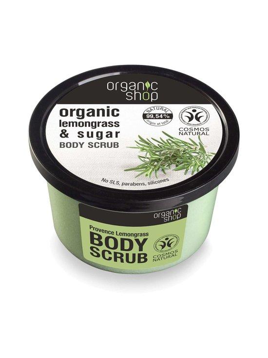Organic Shop - Provence Lemongrass Body Scrub -vartalokuorinta 250 ml - null | Stockmann - photo 1