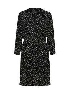 Selected - SlfDamina 7/8 AOP Dress -mekko - C-N10 BLACK | Stockmann