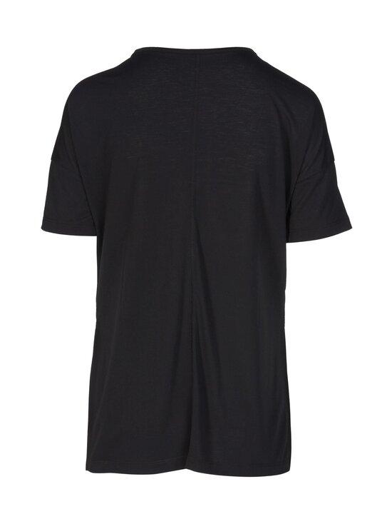 Nike - Yoga Dry Layer SS Top -paita - 010 BLACK/DK SMOKE GREY   Stockmann - photo 2