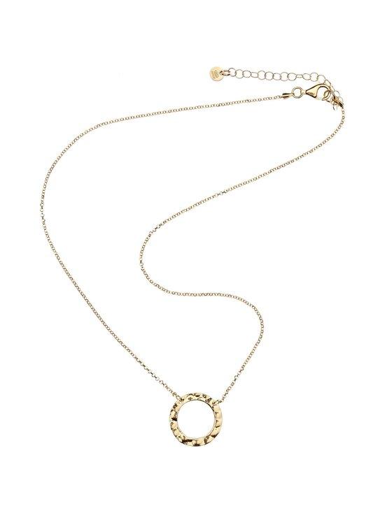 Dfj Collections - Ring Flat Pendant -kaulakoru - GOLD | Stockmann - photo 1