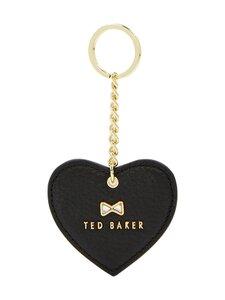 Ted Baker London - Lilloh Crystal Bow Detail Heart Key Charm -avaimenperä - 00 BLACK | Stockmann