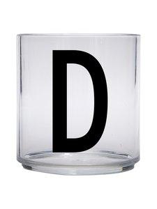 Design Letters - Kids Personal Drinking Glass -juomalasi, D - KIRKAS | Stockmann