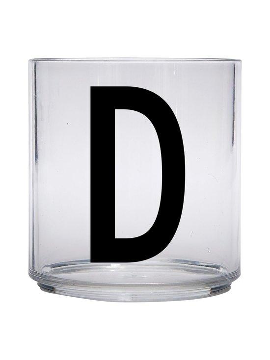 Design Letters - Kids Personal Drinking Glass -juomalasi, D - KIRKAS | Stockmann - photo 1