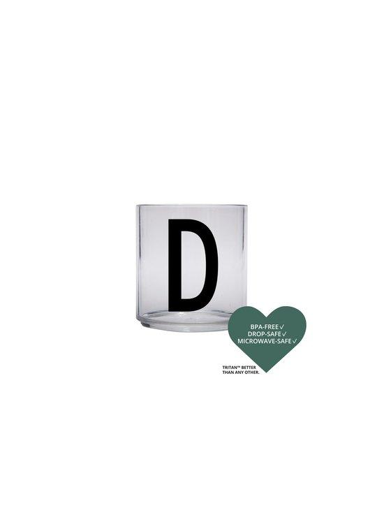 Design Letters - Kids Personal Drinking Glass -juomalasi, D - KIRKAS | Stockmann - photo 2
