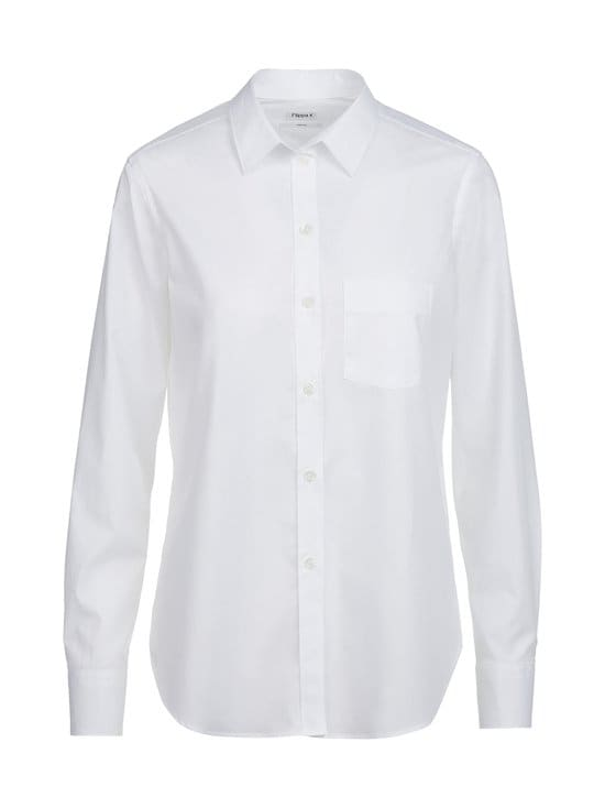 Filippa K - Classic Stretch -pusero - WHITE | Stockmann - photo 1