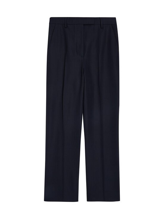 Tommy Hilfiger Collection - HCW CROPPED TAILORED PANT -housut - DY4 YALE NAVY | Stockmann - photo 1