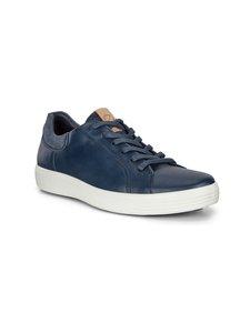 ecco - Soft 7 M -nahkasneakerit - 51952-MARINE/MARINE/NAVY | Stockmann
