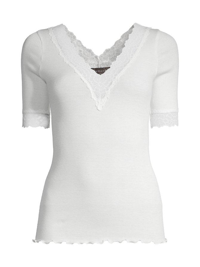 Organic V-Neck T-Shirt -paita