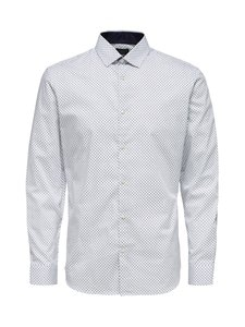 Selected - SlhSlimNew Mark -kauluspaita - WHITE | Stockmann