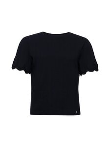 Superdry - Emb Sleeve Tee -paita - 02A BLACK | Stockmann