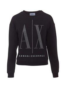 ARMANI EXCHANGE - Sweat Crew Neck Logo -paita - 1200 BLACK   Stockmann
