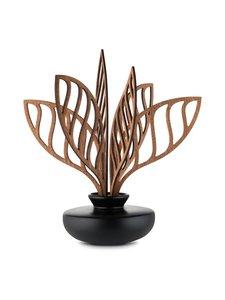 Alessi - The Five Seasons Leaf Fragrance Diffuser Shhh -huonetuoksu - MUSTA/MAHONKI   Stockmann