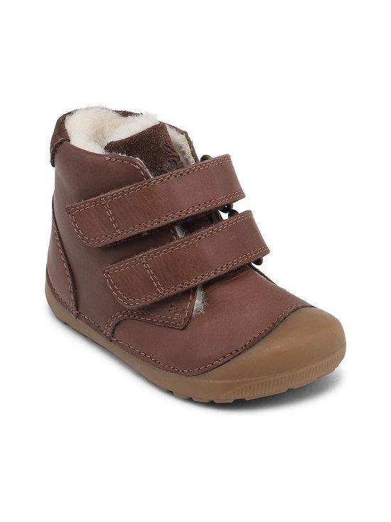 Bundgaard - Petit Mid Winter Velcro Firststep -nahkakengät - 218 MINK BROWN WS | Stockmann - photo 1