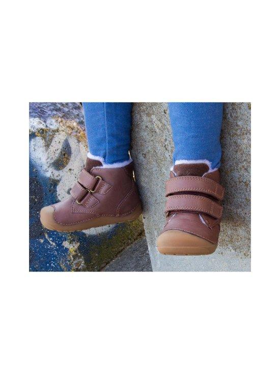 Bundgaard - Petit Mid Winter Velcro Firststep -nahkakengät - 218 MINK BROWN WS | Stockmann - photo 3