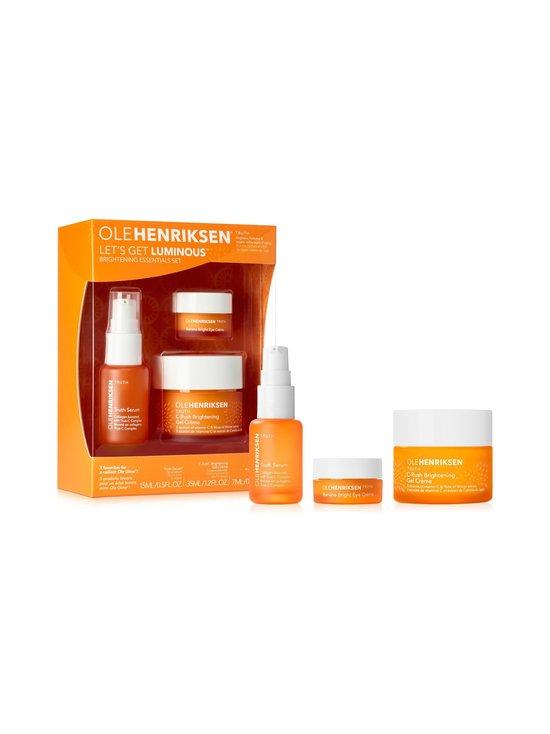 Ole Henriksen - Truth Lets Get Luminous Set -ihonhoitopakkaus - NOCOL | Stockmann - photo 1