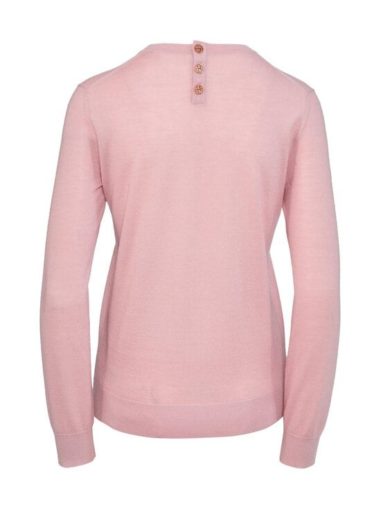 Tory Burch - Cashmere Iberia Pullover -kashmirneule - 662 AUTUMN PINK | Stockmann - photo 2